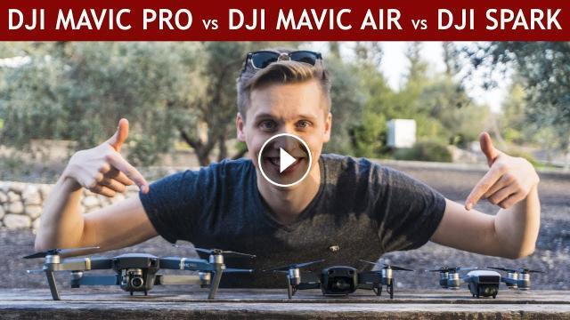 DJI Mavic Air Vs Pro Spark