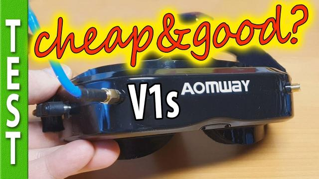 AOMWay Commander V1s Review (FOV comparison to other goggles)