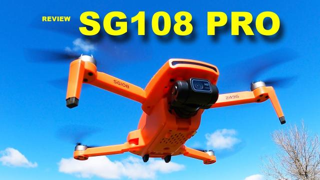 SG108 PRO is a small Camera Drone with plenty of features - Review