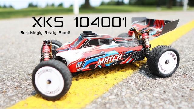 Surprisingly Good RC Buggy for the price! - Wltoys XKS 104001 1/10 - Review