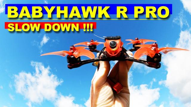 Emax Babyhawk R Pro - A very powerful Race Quad - Review & Setup & Crash