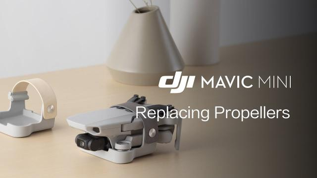 Mavic Mini | How To Replace The Propellers