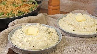Family Style Mashed Potatoes