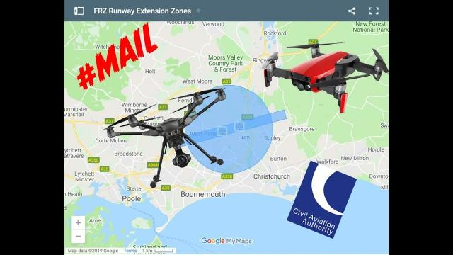 Drone MAPS Red zones..What do they mean? Where Can I fly? //#MAIL- 99
