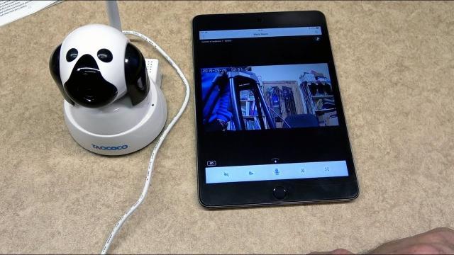 Wireless IP camera With HD Video Resolution & Smart Pan Tilt Zoom