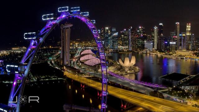 Aerial View - Singapore Flyer