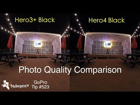 GoPro Hero4 Black Vs Hero3 Photo Quality Comparison