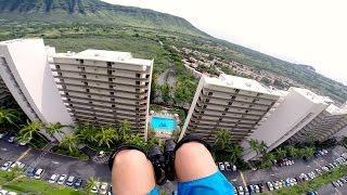 GoPro: Speedflying Through Buildings