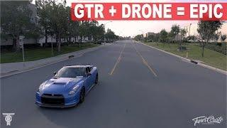 GTR DJI Phantom 4 Drone EPIC GTR footage!