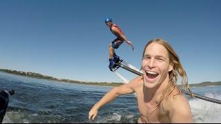 Wild Jetski Ride with Pro Hydroflight Athlete