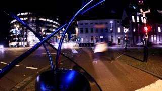 4K Gopro Hero 4 Silver Night Time Lapse Bicycle Ride