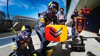 GoPro: Pit Stop Practice with the Red Bull Racing Formula One Team