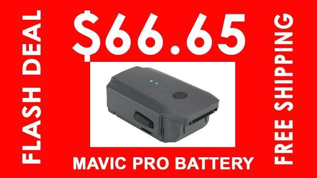 DJI Mavic Pro - Battery on SALE!
