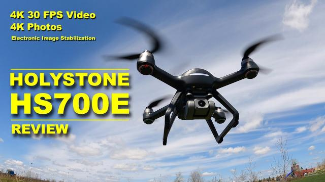 Holystone HS700E Camera Drone - Beginners Will Love It!