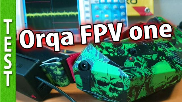 Orqa FPV one goggles LATENCY
