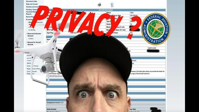 FAA Drone Pilot Privacy.. Can I see YOUR Address?