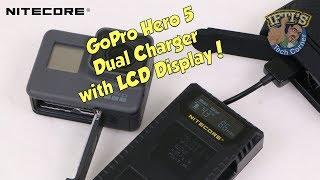 Nitecore UGP5 - The GoPro Hero 5 Battery Charger with LCD Display!! - REVIEW
