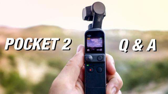 DJI POCKET 2 - Your Questions Answered
