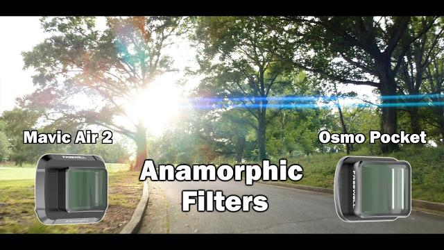 Shooting Anamorphic Video with the DJI Mavic Air 2/Osmo Action - Freewell