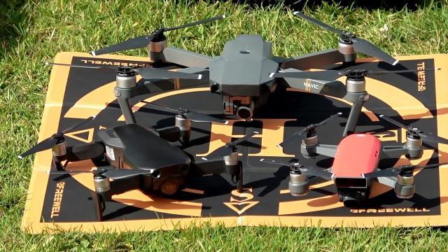 994f3d58100 03:11 Goto Foldable Landing Pad for the DJI Mavic Air DJI Mavic Pro DJI  Spark