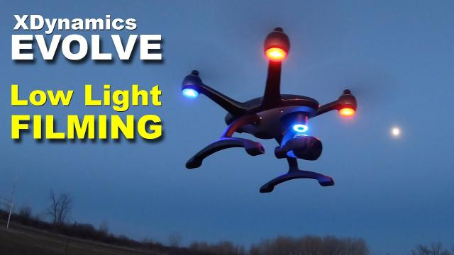XDynamics Evolve Drone - Low Light Filming