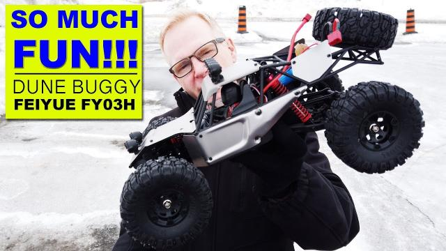 Crazy Fun!! I run the FEIYUE FYO3H Dune Buggy on a 3S Battery