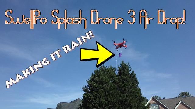 SwellPro Splash Drone 3 Air Drop Water Assault