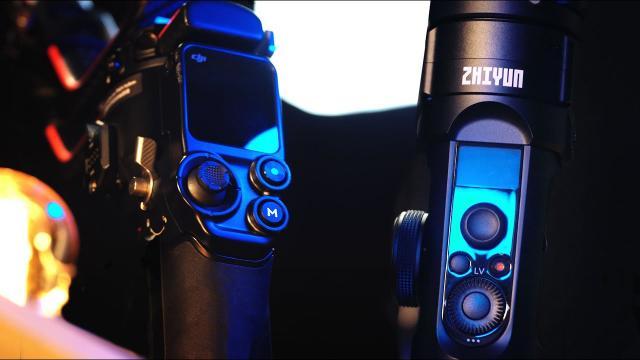 DJI RS2 vs ZHIYUN CRANE 2S Comparison