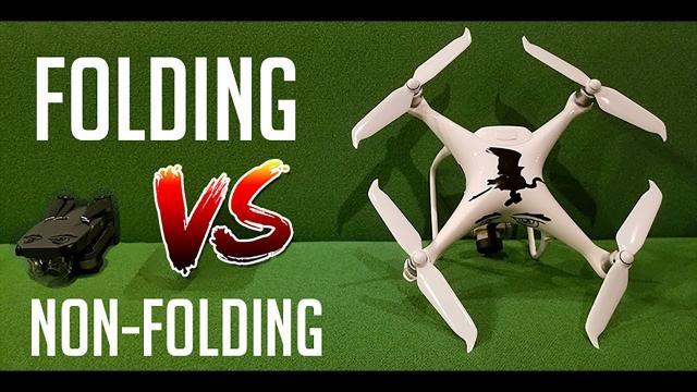 Folding Drone VS Non folding Drone - KEN HERON