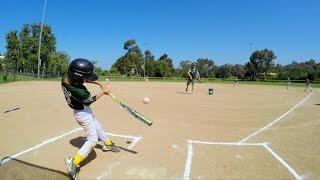 GoPro Baseball: The Pinto A's Play Ball