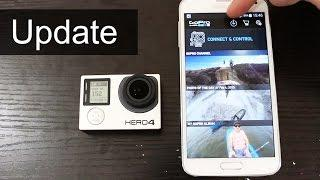 How to update GoPro HERO4 Firmware (February Release)