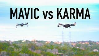 DJI Mavic VS GoPro Karma HOVERING IN THE WIND! WHICH IS BEST?