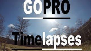 GoPro Hero 4 - Timelapse Video Vs. Burst Mode