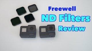 ND FILTERS for GoPro Hero5 / Hero6 by Freewell Review