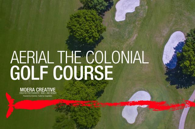 DJI Inspire 1 - Aerial of The Colonial Golf Course