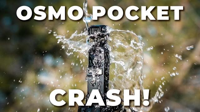 DJI OSMO POCKET CRASH !!