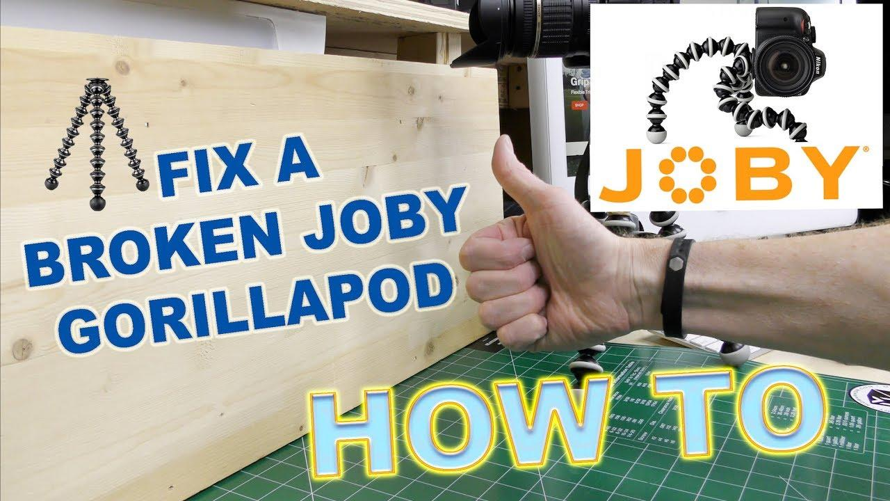 How to Fix your Broken Joby Gorillapod tripod