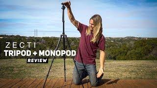 Camera Tripod REVIEW - Tripod and Monopod in One by Zecti