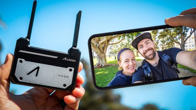 Wireless Video Transmitter For Filmmakers - Accsoon CineEYE