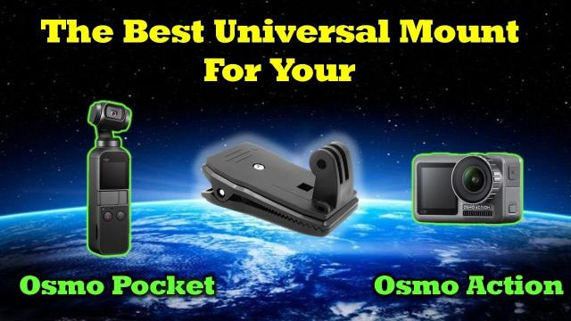 The Perfect Mounting System For Your Osmo Pocket & Osmo Action