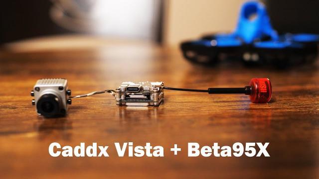 164 gram HD Microquad!!! Caddx Vista + Beta95x