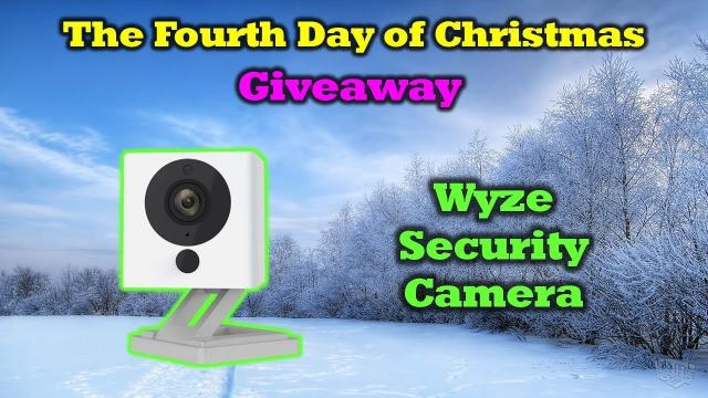 Free WyzeCam - 12 Days of Drone Valley Christmas Giveaways 2019