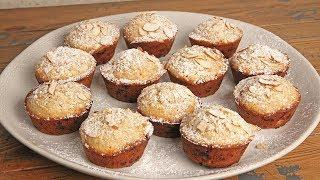 White Chocolate Almond Muffins | Episode 1238
