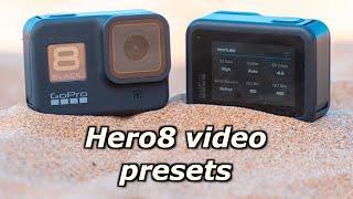GoPro Hero8: My Custom Video Presets - GoPro Tip #667 | MicBergsma