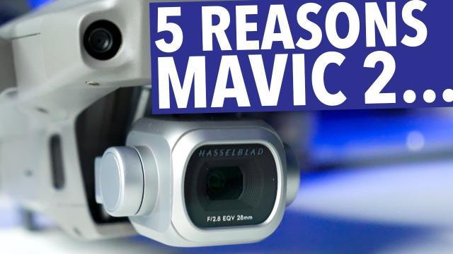 MAVIC 2 PRO ULTIMATE VIDEOGRAPHER DRONE? 5 REASONS!