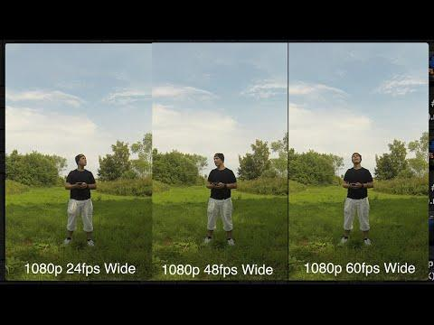 GoPro Tip #57 Sharpness Test 1080p (4K)