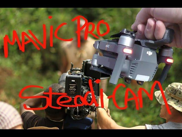 DJI Mavic Pro into A Steadi-CAM!! REAlly??