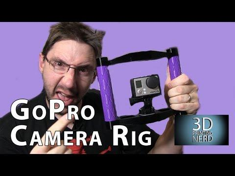 My 3D Printed GoPro Camera Rig Is Released!