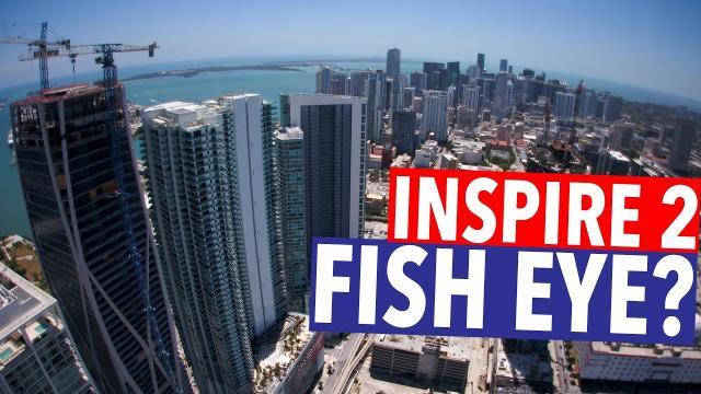 DJI INSPIRE 2 X5S FISH EYE????