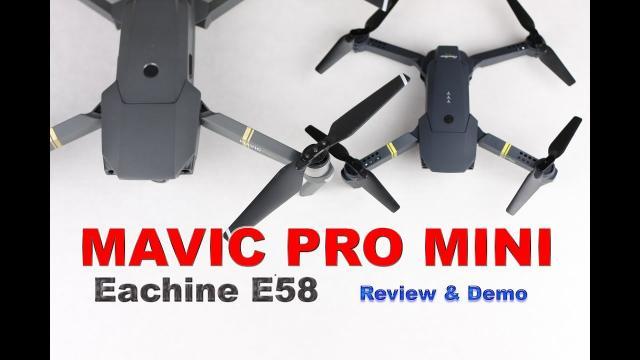 MAVIC PRO MINI - E58 Drone - Review & Demo